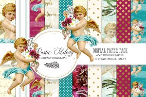 ANGEL DIGITAL PAPER PACK