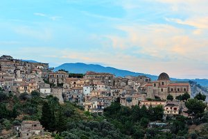 Stilo village, Calabria, Italy.