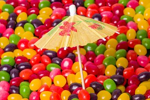 Jelly bean umbrella