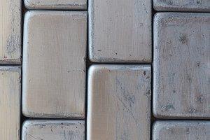 grey metallic brick wall background
