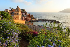 Sunset Vernazza, Cinque Terre