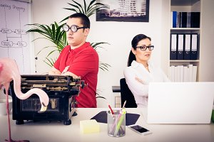 Unlikely Office Team