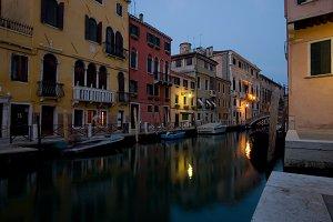 Venice Night Scene