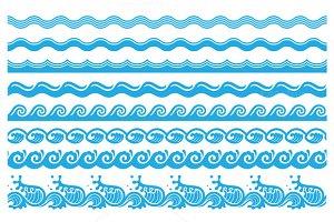 8 wave brushes set2