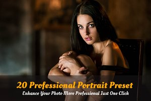 20 Professional Portrait Preset