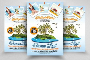 Tour & Travel Company Flyer