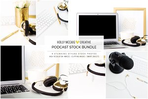 Styled Stock Bundle | Podcaster