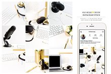 Instagram Stock Photos | Podcaster