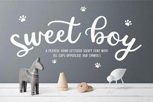 Sweet Boy Script Font
