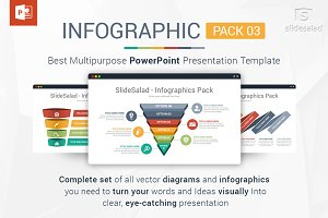 Top PowerPoint Infographics Pack 3