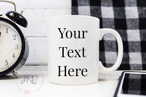 Black & White Mug Mockup