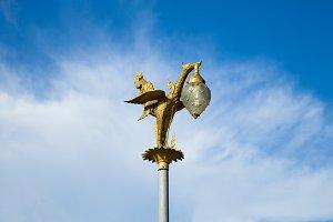 Lamp animals.
