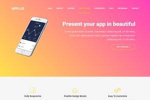 Applus – App Landing Page Theme