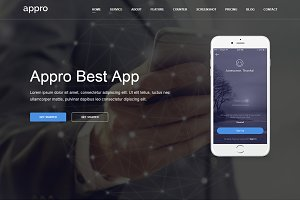 Appro - App Landing Page Theme
