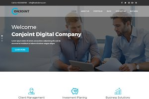 Conjoint – Corporate WordPress Theme