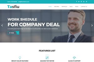 Tasfiu – Corporate WordPress Theme