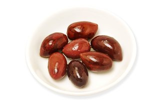 olives red isolated