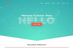 eZone - Bootstrap eCommerce Template