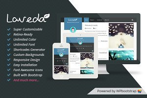 Laveda -Responsive WP Blog Theme