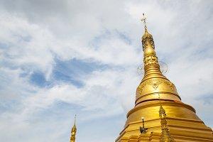 Golden pagoda.