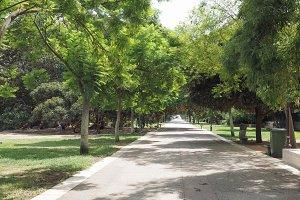 Giardini pubblici (Public park) in Cagliari