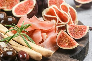 jamon and figs