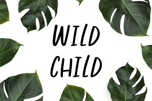 Wild Child - Fun Handwritten Font