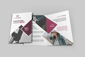 Fashion Bi-Fold Brochure