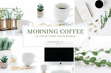 Morning Coffee Stock Photo Bundle