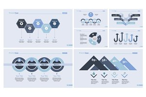 Business data design template set