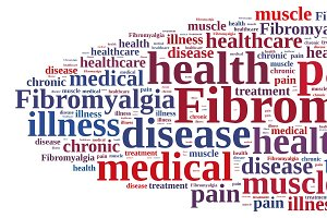 Word cloud on fibromyalgia
