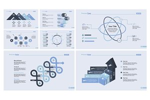 Nine Business Slide Template Set