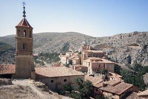View of te medieval village.Albarrac
