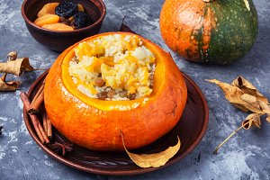 porridge with pumpkin
