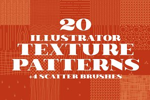 20 Illustrator Texture Patterns