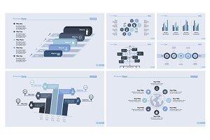 Inforgraphic design template set