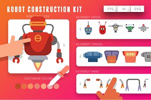 Robot Contruction Kit - Unlimited