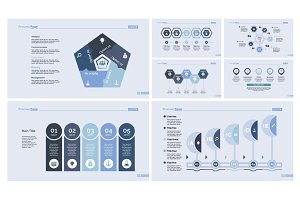 Seven Strategy Slide Template Set