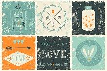 Grunge love pack
