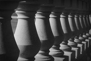 Black & White Columns