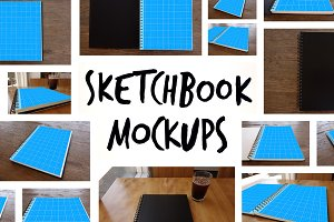 15 Sketchbook Mockups