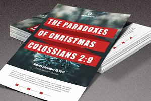 The Paradoxes of Christmas Flyer