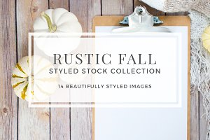 Rustic Fall Stock Photo Bundle
