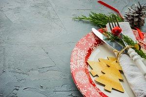 Festive Christmas concept