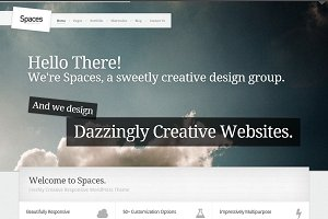 Spaces – Premium Responsive WP Theme