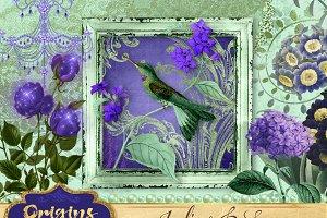 Indigo and Sage Graphics Pack