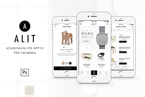 Alit Minimalist UI for eCommerce App