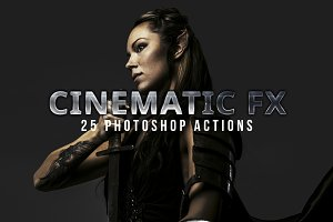 19 Cinematic FX for Photoshop