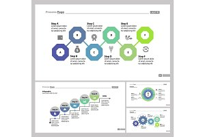 Four Banking Slide Templates Set