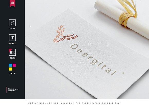 Deergital Logo